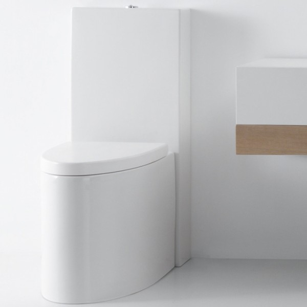 Ceramica gsg stand wc serie glass 52 cm design massimiliano