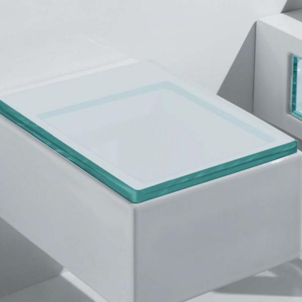 Wc sitz serie glass 123 73 wc sitz glass aus kunststoff ohne