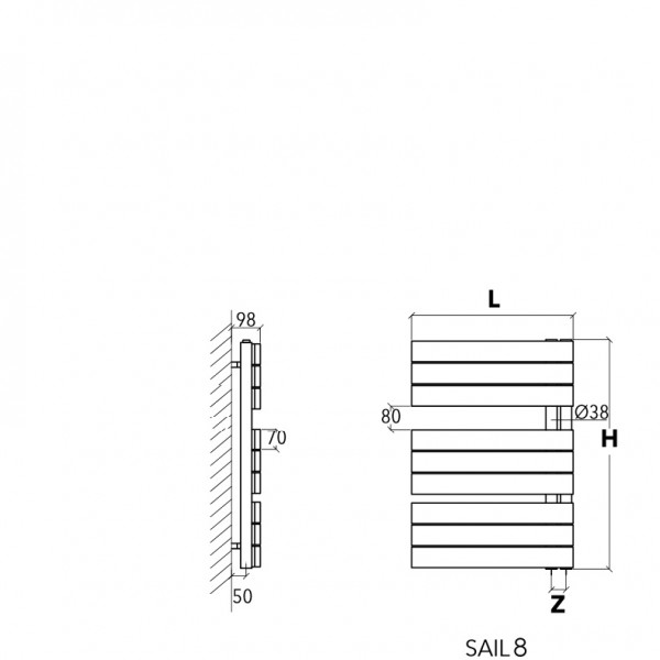 scirocco wandheizk rper sail elektrisch oder. Black Bedroom Furniture Sets. Home Design Ideas