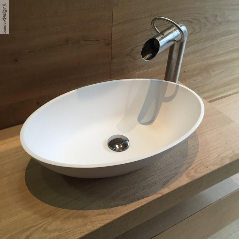 jee o hohe waschtischarmatur pure edelstahl geb rstet oder poliert. Black Bedroom Furniture Sets. Home Design Ideas