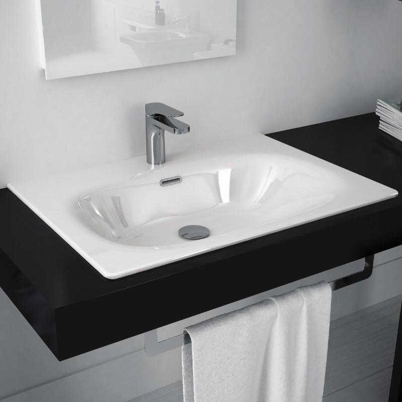 Einbauwaschtisch  Einbauwaschbecken | baederdesign.info | Hersteller: Hidra, Art ...