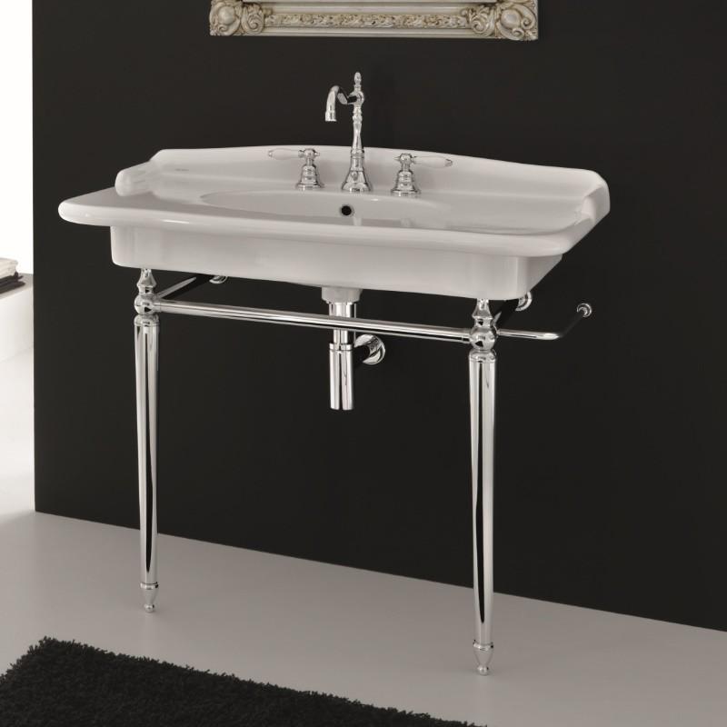 hidra ceramica nostalgische waschtischkonsole mit. Black Bedroom Furniture Sets. Home Design Ideas