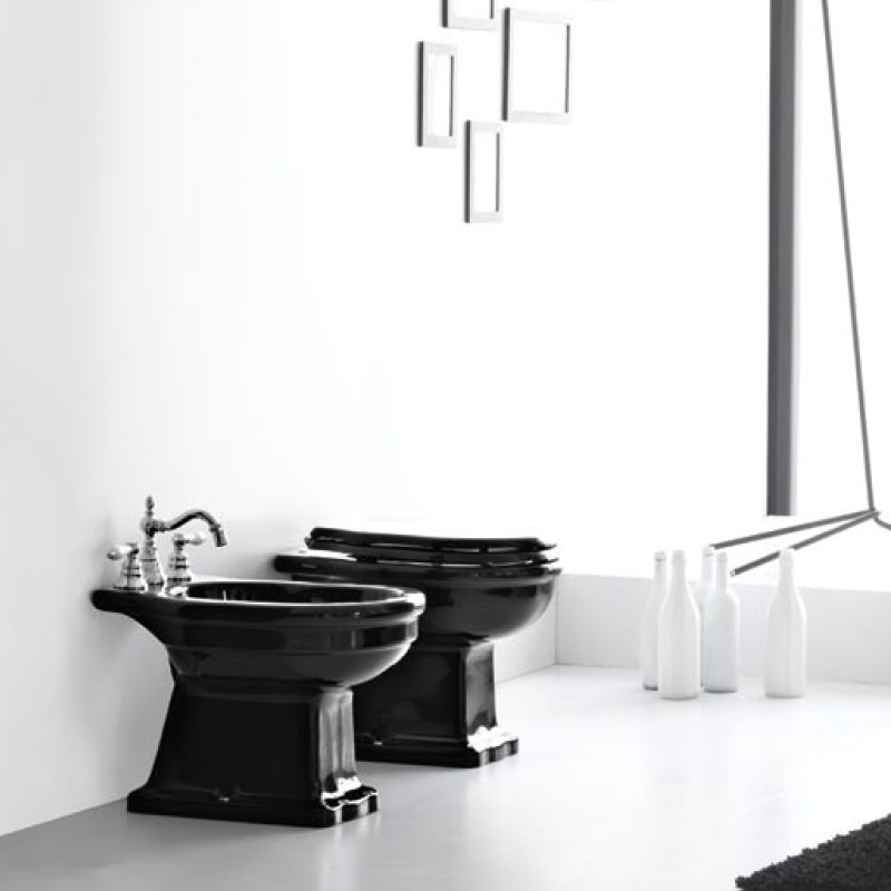 hidra nostalgisches stand wc ellade wahlweise mit verschiedenen sp lkastenoptionen. Black Bedroom Furniture Sets. Home Design Ideas
