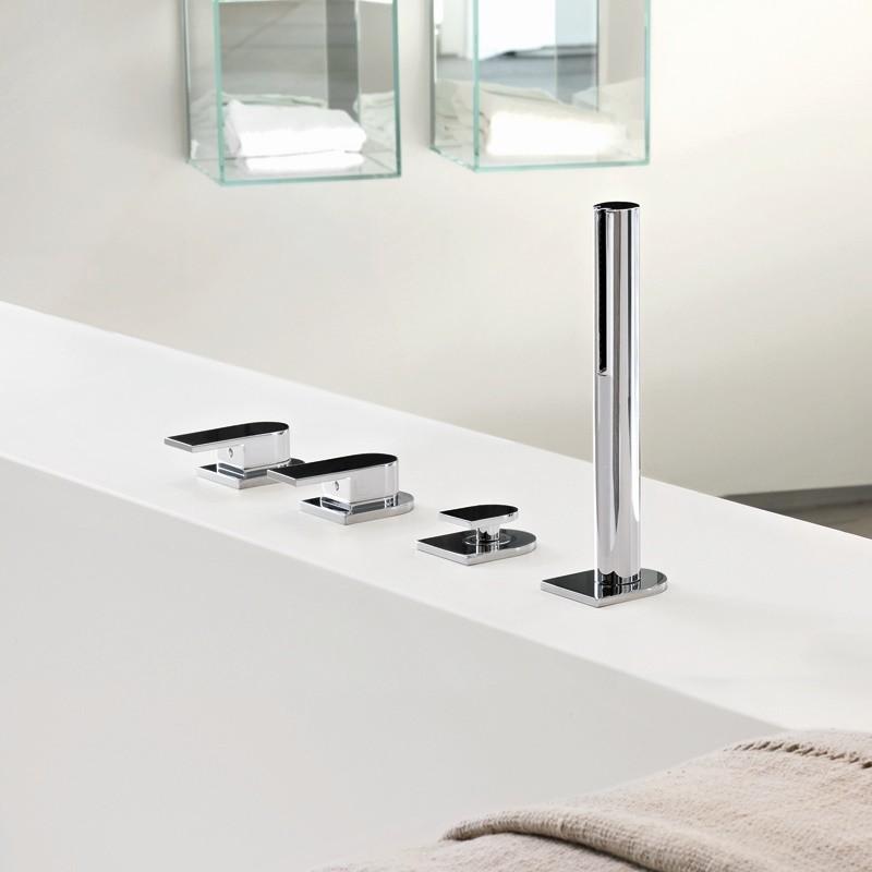 fantini wannenrandmischer mare design franco sargiani 6365 mit auslauf 6367 ohne auslauf. Black Bedroom Furniture Sets. Home Design Ideas