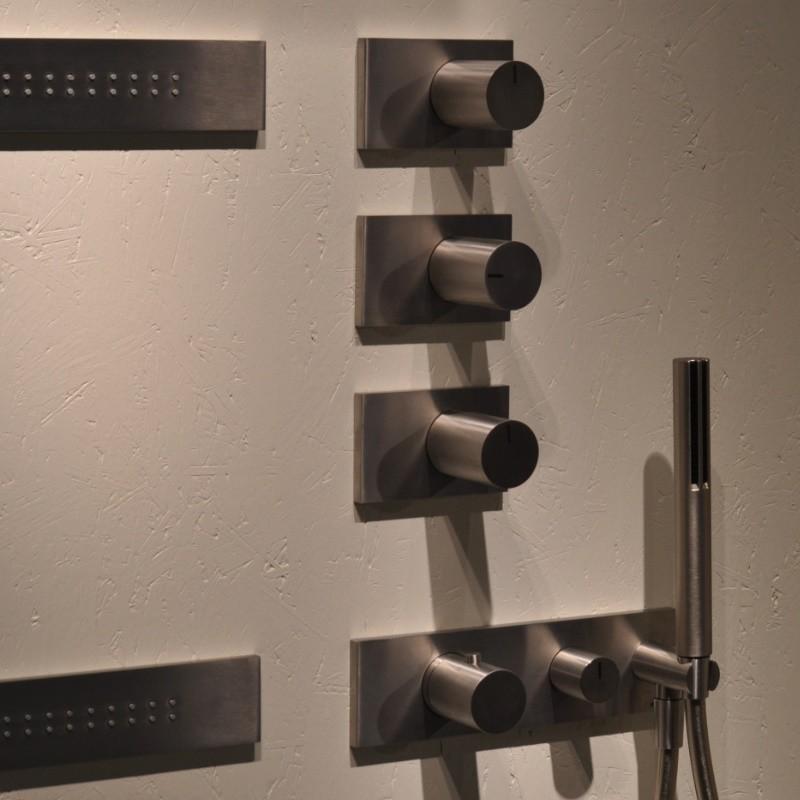 Einzigartig Fantini Unterputz-Thermostat Serie Milano   Franco Sargiani   mit  VK47