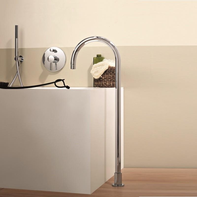 fantini | bodenmontierter wasserauslauf | zwei höhen wählbar, Hause ideen
