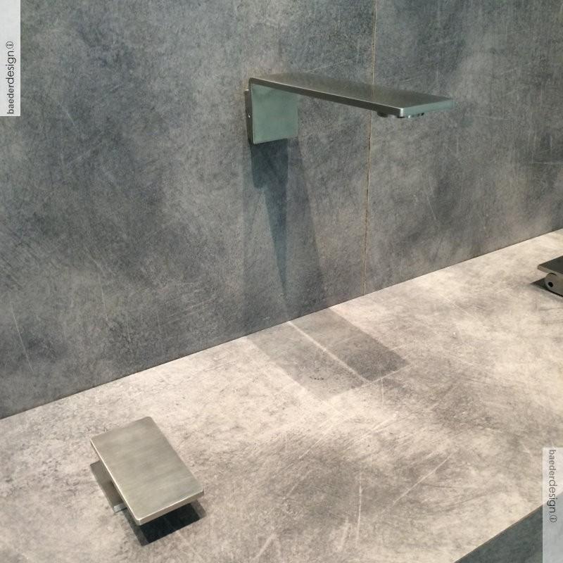 Treemme waschtischmischer zur tischmontage 5mm design - Wandauslauf armatur ...