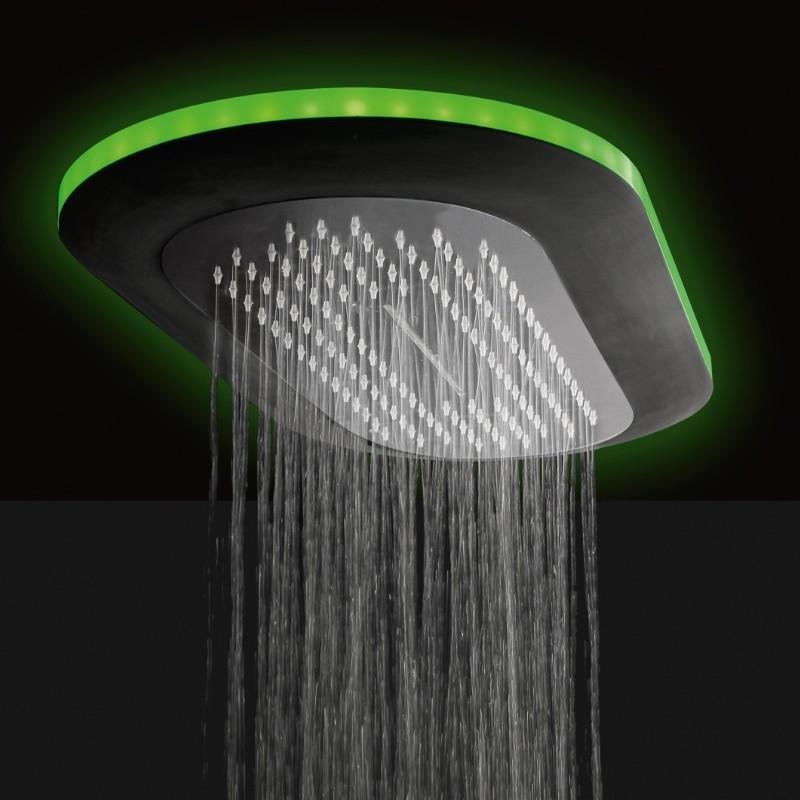 Regendusche Deckeneinbau : Regenbrause Light mit Option: Schwallfunktion mit Option: LED