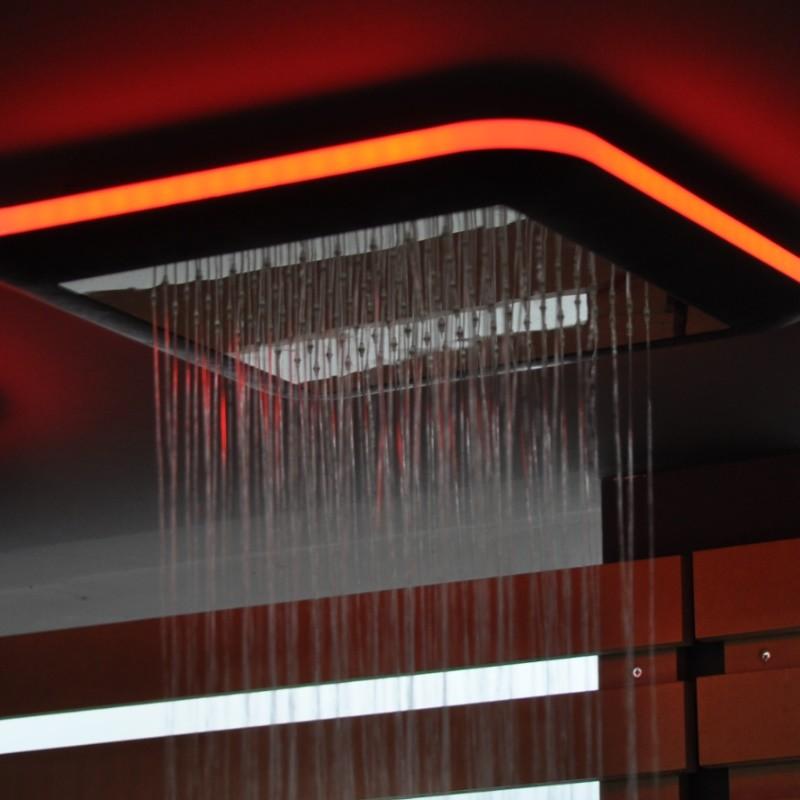 Regendusche Deckeneinbau : Regenbrause Light ohne Schwallfunktion mit Option: LED Beleuchtung