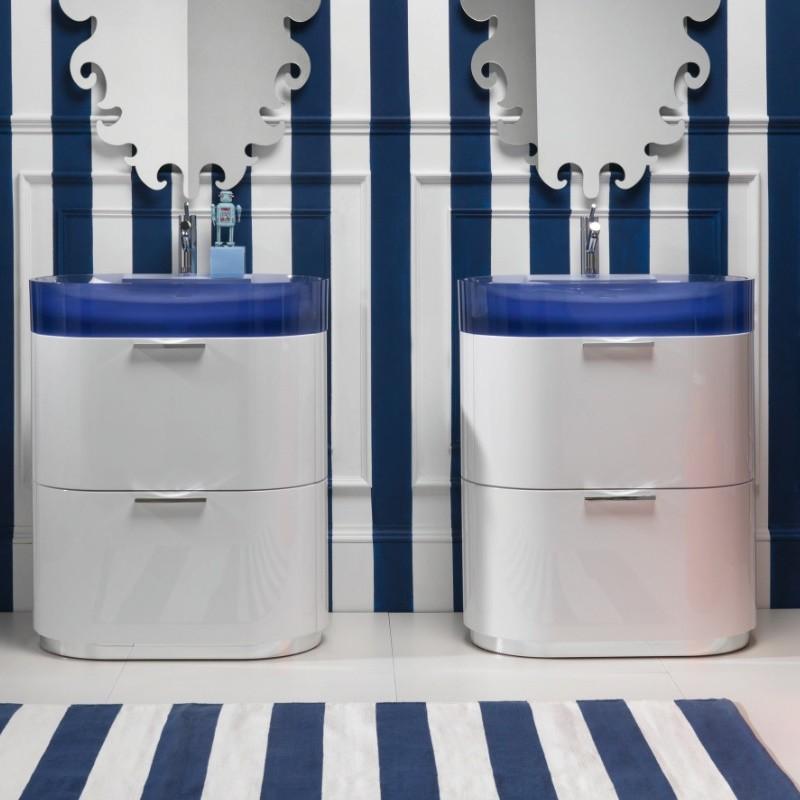 Waschtisch mit unterschrank stehend mit spiegel  Regia | bodenstehender Waschtisch Bilbao | mit Unterschrank und ...