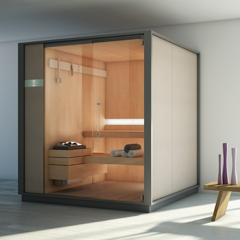 effegibi sauna s one logica saunakabine design giovanna talocci. Black Bedroom Furniture Sets. Home Design Ideas