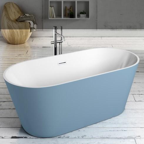 Banos10 | Badewanne Van | weiß/azul | 150x75