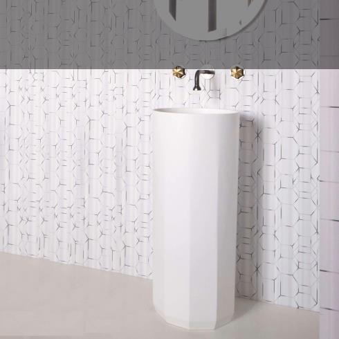 JEE-O | Standwaschbecken Bloom rund | 40cm | aus DADOquartz