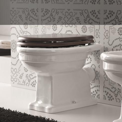 Ellade Stand-WC mit Wandabgang (ohne Spülkasten)