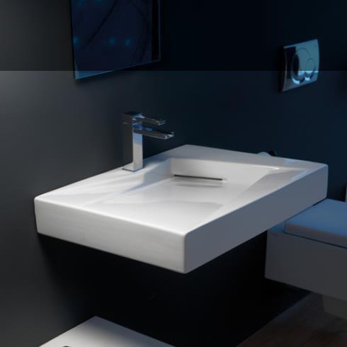 Waschtisch OZ | 65cm | weiß glänzend