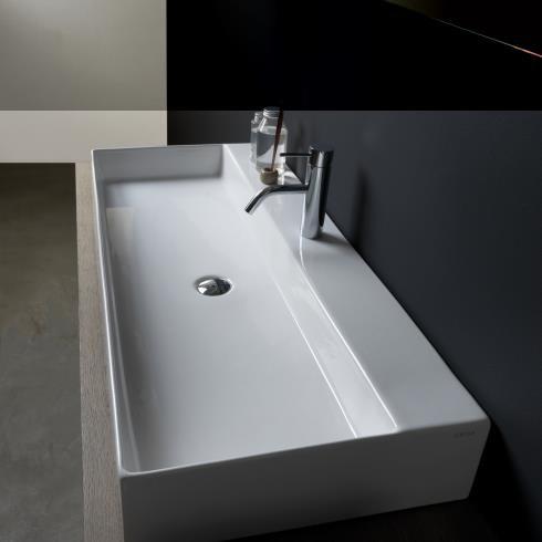 GSG | Waschtisch Zenith BW 102 | weiß glänzend
