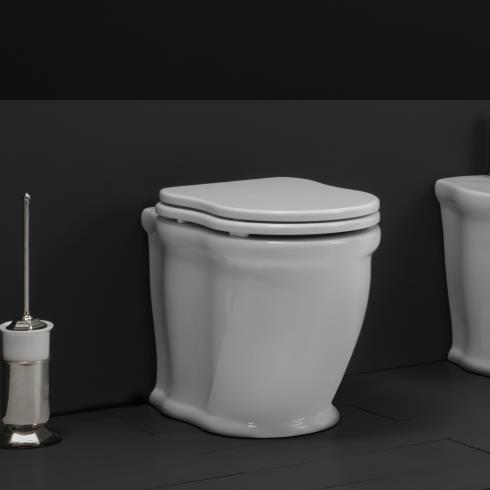 Stand-WC aus der Serie Time Collection von GSG | weiß