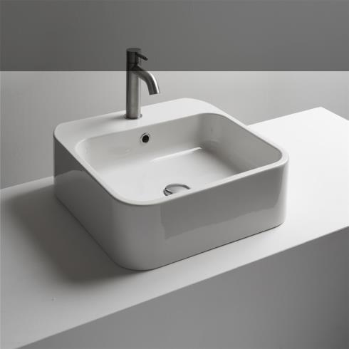 Waschbecken Cosa 48.48 | Aufsatz- oder Wandwaschtisch | 48cm