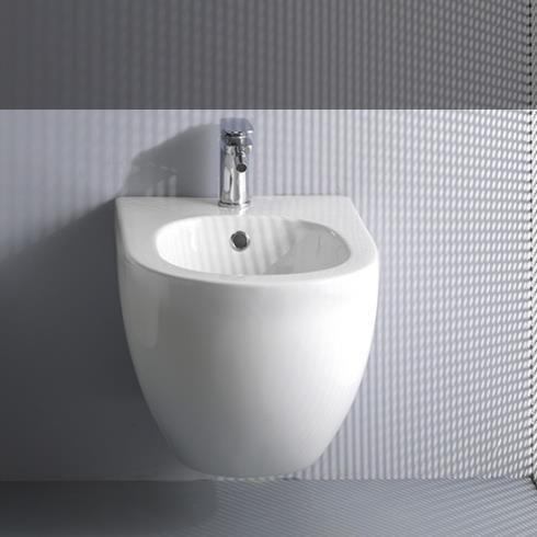 Axaone | Wandbidet Serie Glomp | weiß glänzend