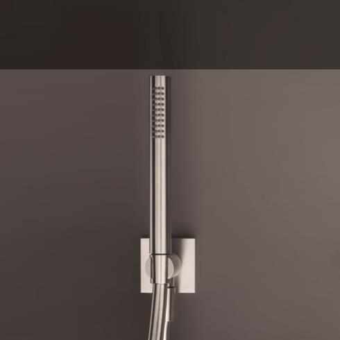 Fantini Handbrauseset 8052 | Edelstahl gebürstet