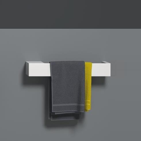 Regia | Handtuchstange Scala 65cm | weiß matt