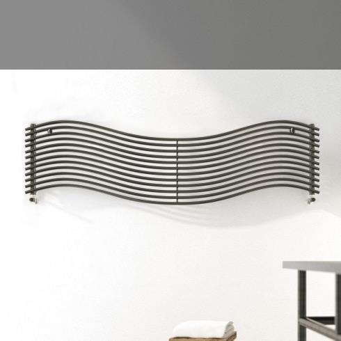 Wandheizkörper Wave | 150x49cm | lackiert | horizontal
