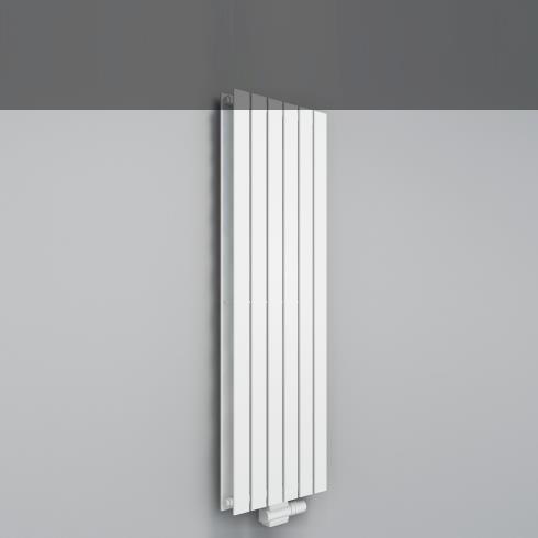 Heizkörper Arezzo Doppio   weiß   455mm x 1600mm
