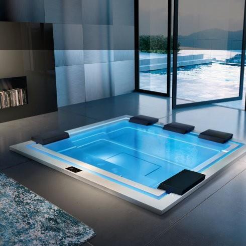 Badepool Zen | 280x235 | mit Ghost-System und Beleuchtung