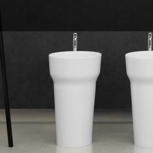 Art Ceram | Standwaschbecken Pop | weiß