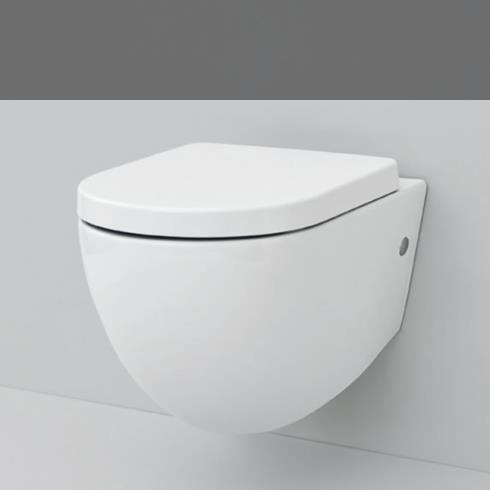 Art Ceram | Serie File 2.0 | wandhängendes WC | spülrandlos