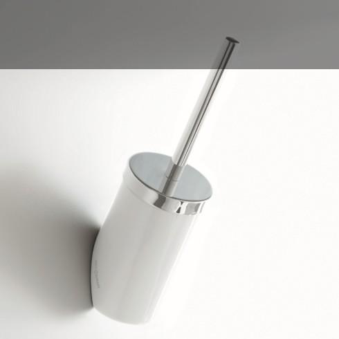 WC-Bürstenhalter Postit | Keramik, Edelstahl