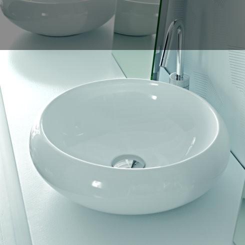 Hidra Ceramica Waschschale TAO | TA19 | 43cm | weiß