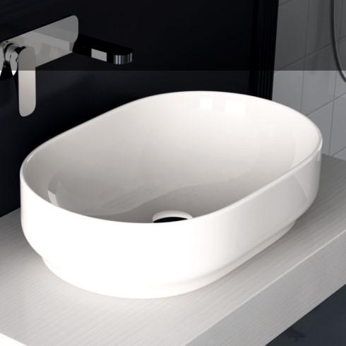 Aufsatz-Waschschale Giò 60 | weiß