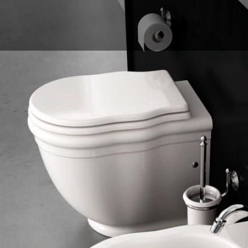Hidra | klassisches Stand-WC Ellade | weiß