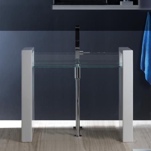 Waschtisch Glass | 120cm | freistehend