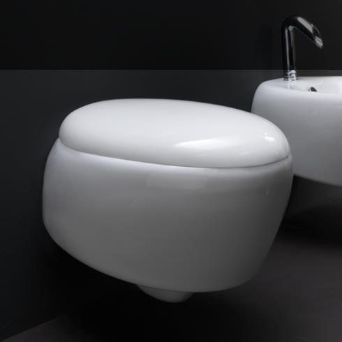 GSG | spülrandloses Wand WC | Serie Touch | Soft Close WC-Sitz