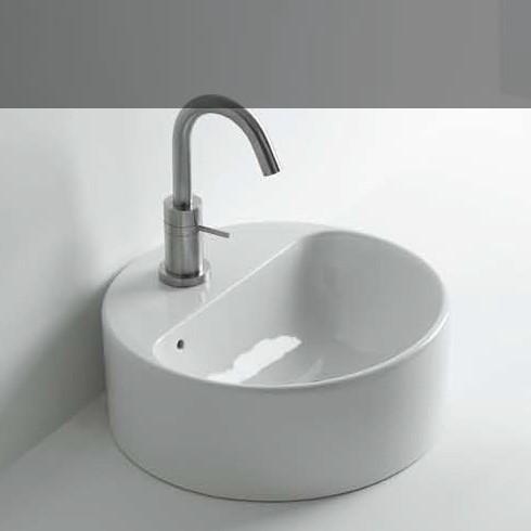 Waschbecken Normal 03C | aufgesetzt installiert