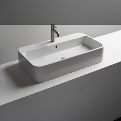 Waschbecken Cosa 80.45| Aufsatz- oder Wandwaschtisch | 80cm