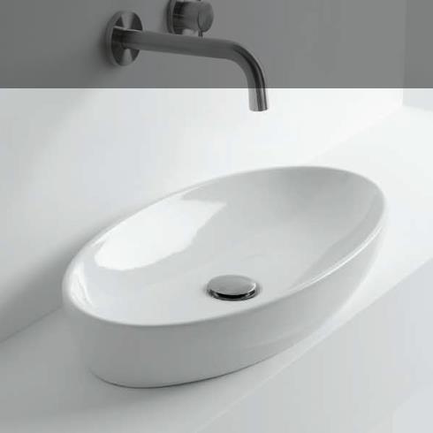 Axaone Aufsatzwaschschale H10 oval  | 60x32