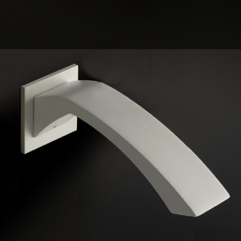 Wandauslauf Arche | weiß | Standardauslauf