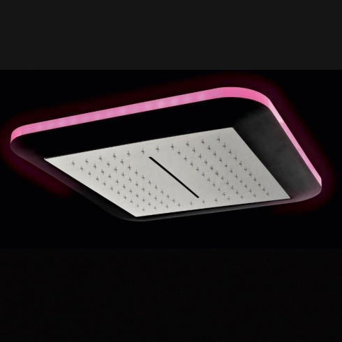 Regenbrause Light | mit Option: Schwallfunktion | mit Option: LED Beleuchtung | Einbauvariante