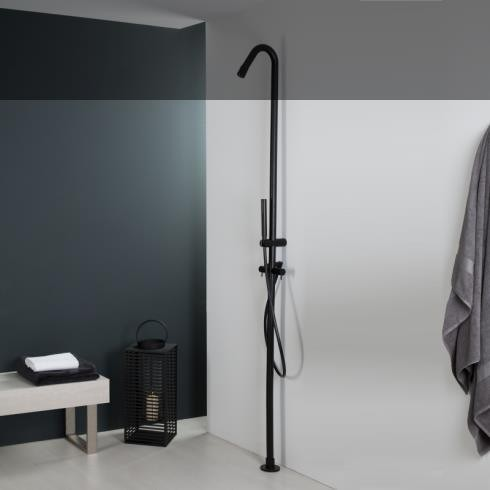 Duschen-Standarmatur | Diametro35 | schwarz matt