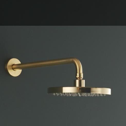 Ritmonio | Kopfbrause 200mm | gold gebürstet (GOX)