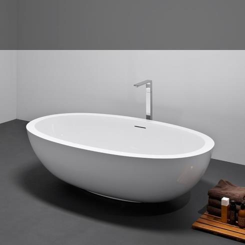 Badewanne Epona mini | weiß shine | 174x99