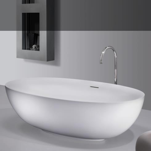 Badewanne Epona Soft mini | weiß matt | 174x99