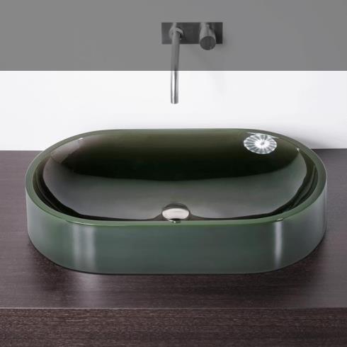 Waschschale Oval | Vetroghiaccio