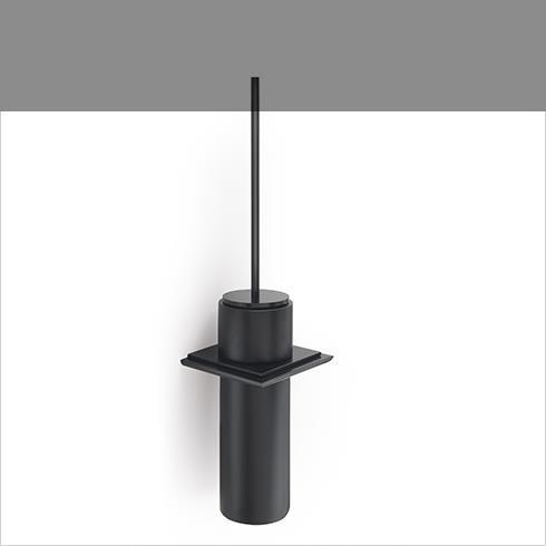 Regia | WC-Bürstenhalter Absolute mit Wandmodul | schwarz