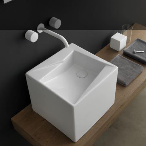 Schwarz Matt Keramik Waschbecken Aufsatzwaschtisch Durchmesser 42 Cm ...