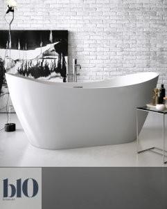 Banos10 | Badewanne Vela | weiß | Acryl Polyester Mineralguss