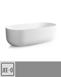 Badewanne Flow | DADOquartz | weiß | 178x80cm